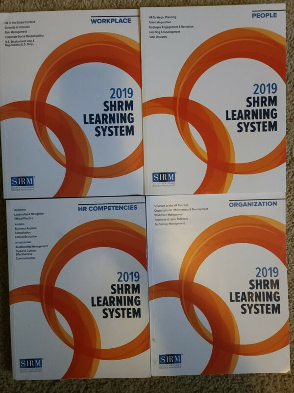 2019 SHRM Learning Systems Books