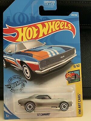 Hot Wheels Custom Zamac '67 Camaro Treasure Hunt