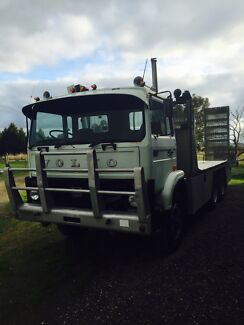 Volvo F7 Truck Beavertail Excavator Bobcat Tractor Mickleham Hume Area Preview