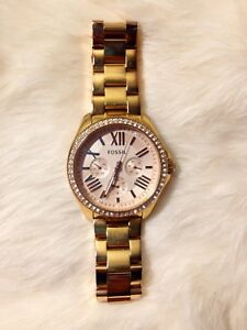 Fossil Cecile Rose Gold Watch