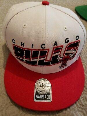 47 brand chicago bulls snapback