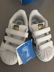 Adidas super star toddler shoes