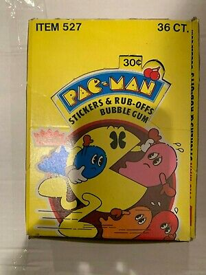 1980 Fleer PAC-MAN Trading Cards Sealed Pack Vintage Video Game Collectible