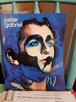 Peter Gabriel Rare Book from 1986 - Armando Gallo