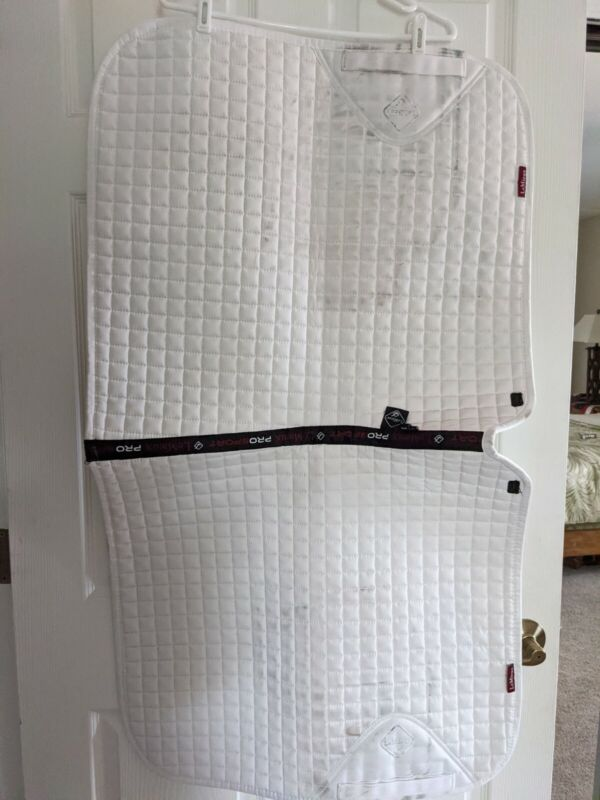 LeMieux ProSport Cotton Square Dressage pad White XL