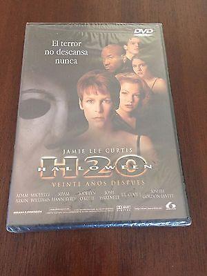 HALLOWEEN H20 - ED 1 DVD CON EXTRAS TERROR - 83MIN NEW & SEALED - NUEVO EMBALADO - 20 Min Halloween