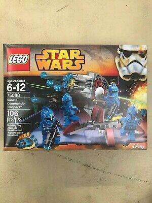 LEGO Star Wars 75088 SENATE COMMANDO TROOPERS Battlepack New /Sealed /Retired