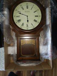 Bulova  Ashford Chiming Clock Walnut C3543