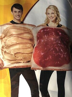 Peanut Butter And Jelly Halloween Costumes (Peanut Butter And Jelly Tunics Two Person Costumes Halloween Cosplay)