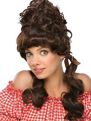MaryAnne Brown Wig island girl farm country long hair novelty TV celebrity   (Novelty Wig)