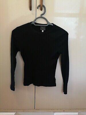 Versace 90s Black Top XS