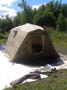 Artic Oven Tent 10 x 20