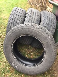 4 used summer tires for sale (Goodyear)