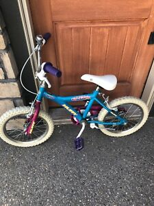 "Huffy girl power 16"" bike"