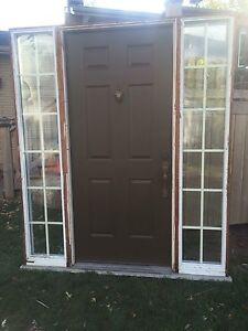 Double sidelight with frame