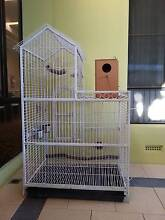 Parrot/Bird Cage and Nesting Box for Sale Willetton Canning Area Preview