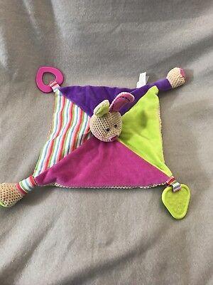 Bigjigs Bella Comforter Soother Blankie Blanket Soft Toy Sensory
