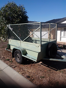 7×4 caged trailer for hire Sunbury Hume Area Preview