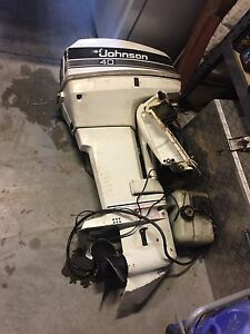 Johnson 40hp outboard Perth Perth City Area Preview