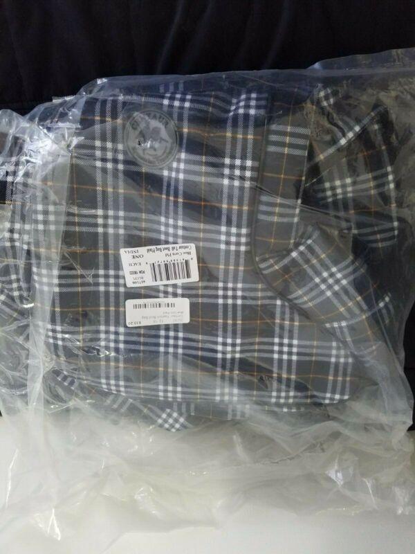 Centaur Blue Corn Plaid Fashion Boot Bag