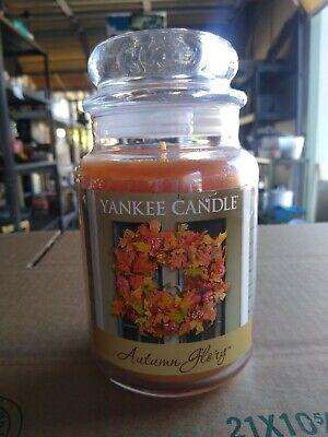 Yankee Candle Autumn Glory Large 22 oz Burns 110-150 Hours NEW