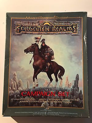 Advanced D&D Forgotten Realms Campaign Setting (1st Edition) Boxed Set 1031