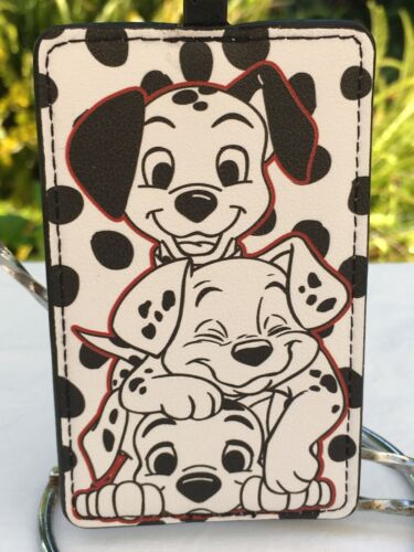 Disney 101 Dalmatians Card/ID Holder with Retractable Lanyard Clip NEW