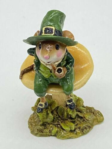 Wee Forest Folk WFF M-406 Wee Leprechaun (w/WFF box) St Patrick
