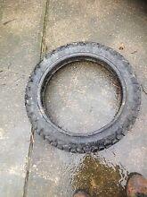 Dirt moter cross rear tyre Dunlop 4.60-18 -63 p Fawkner Moreland Area Preview