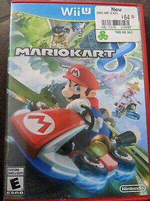 $1 Wii U Game - MARIO KART 8 - CD Condition Booklet missing