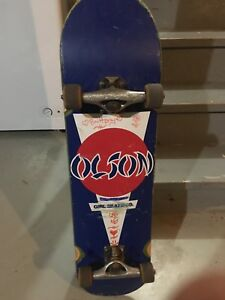 Girl deck with grind king trucks