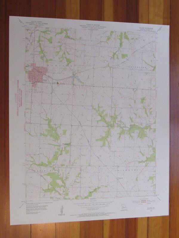 Holden Missouri 1955 Original Vintage USGS Topo Map