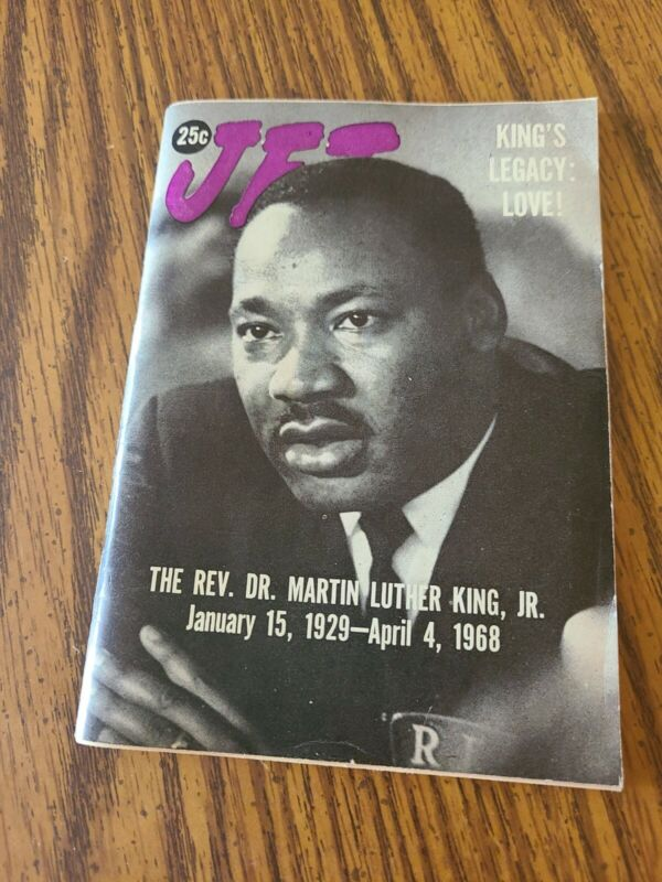 JET MAGAZINE APRIL 18 , 1968 DR.MARTIN LUTHER KING (SPECIAL EDITION)