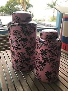 Decorative ceramic canisters Mosman Mosman Area Preview