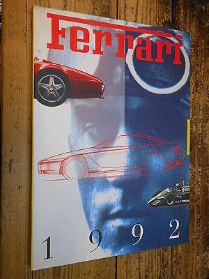 Ferrari 1992 Annuario Yearbook Ferrari 1992 MI ^ usato  Bologna