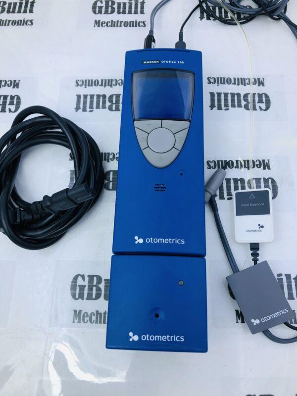Otometrics MADSEN OTOflex 100 Handheld Tympanometer With Probes Very Clean Unit.
