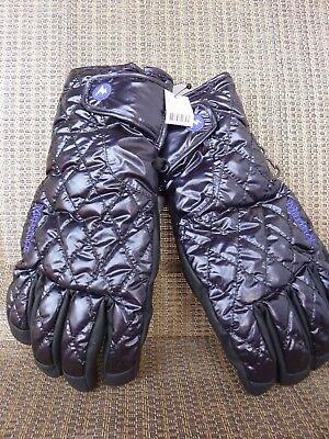 Marmot Women's Black BRETTON GLOVES >DOWN Insulated Waterproof SKI GLOVE> (Marmot Insulated Gloves)