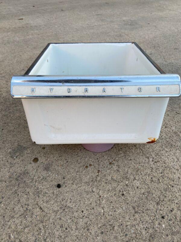 Crisper Drawer 1952 Frigidaire Vintage Refrigerator