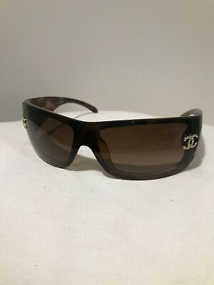 CHANEL Sunglasses, Crystal CC Logos On Lens, 5088-B c502/13 120
