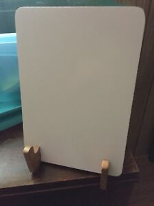 Wooden tablet stand/recipe book stand