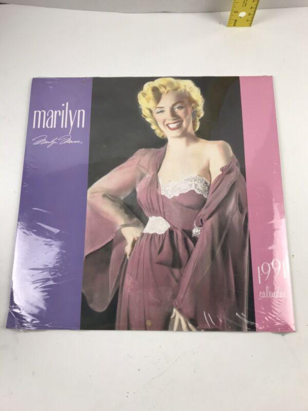 1991 Marilyn Monroe Calendar (Sealed) NOS