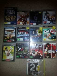 Ps3 & ps2 games( listed elsewhere ) Heritage Park Logan Area Preview