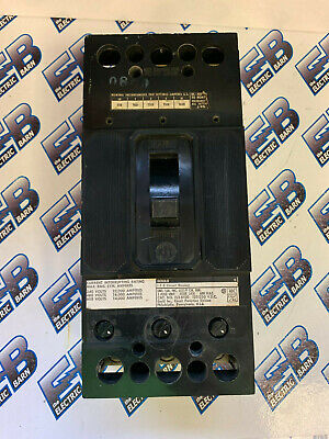 Ite Fj3b100 100 Amp 600 Volt 3p Circuit Breaker- Reconditioned Test Report