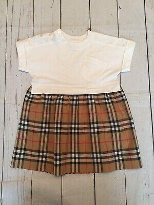 Girls Burberry Ruby Dress size 3 Years 100 cm ... Genuine...Worn Once