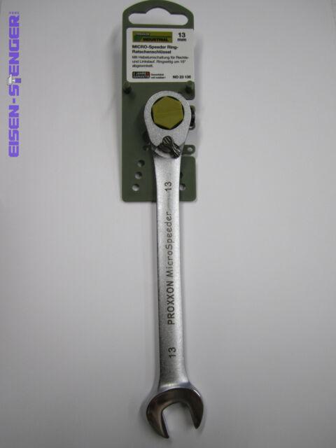 PROXXON MICRO-COMBISPEEDER Ratschenschlüssel, 13 mm No 23135