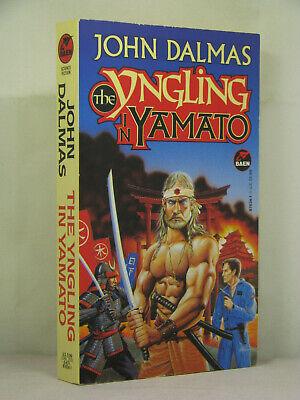 1st, signed by author, Yngling Saga 4: The Yngling in Yamato by John Dalmas(1994 tweedehands  verschepen naar Netherlands