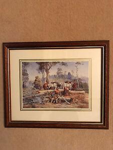 D'arcy Doyle framed prints x 4 Adelaide CBD Adelaide City Preview