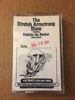 RARE! The Stretch Armstrong & and Bobbito Show 11-29-90 CASSETTE MIXTAPE Tape
