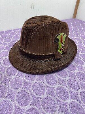 VINTAGE  BEE HATS Fedora Medium Designer Collection