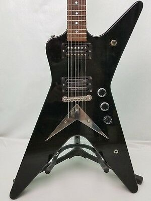 Washburn Electric Guitar Dimebag 332 Darrell Signature Series 6 String Black RH
